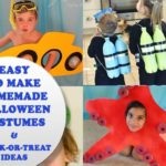 Easy to make Halloween costumes just in time for Halloween. PLUS trunk-or-treat ideas #Way2GoodLife #Halloween #CostumesDIY
