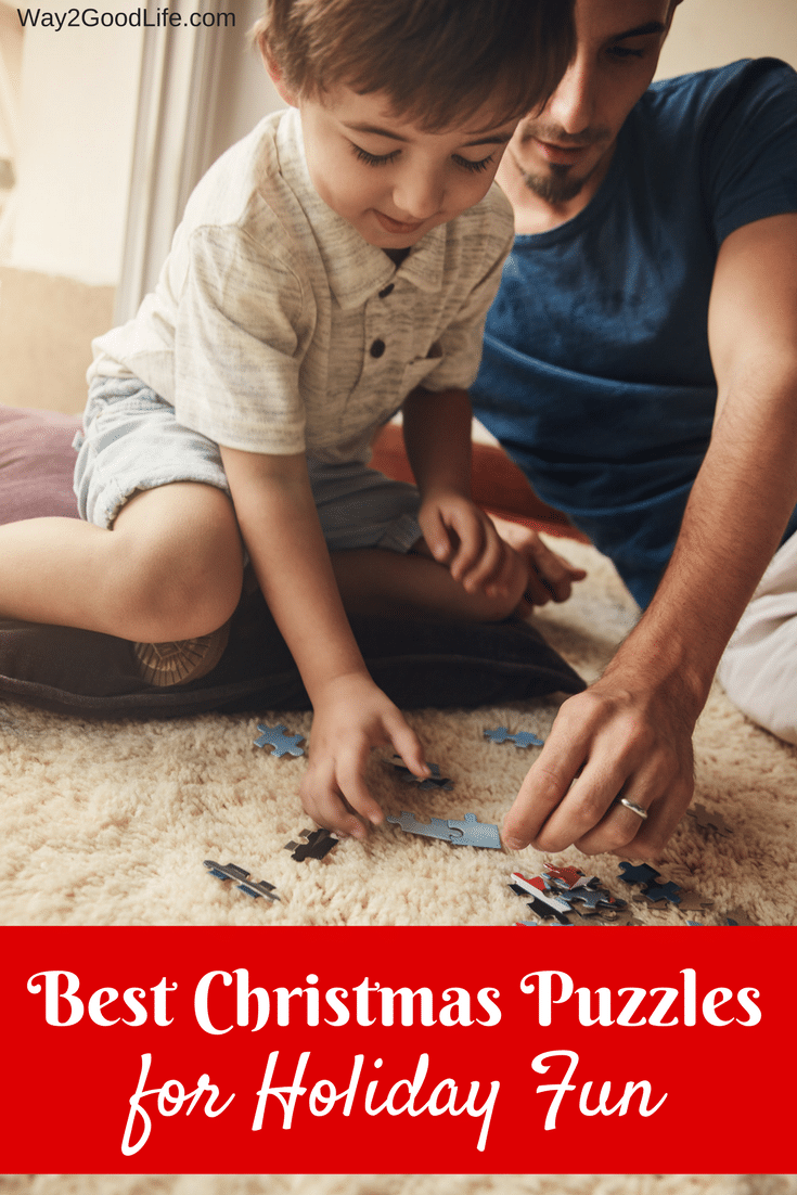 Check out our list of Best Christmas Puzzles for Holiday Fun! Grab some of these top picks to share over cold winter evenings with hot cocoa and fudge!
