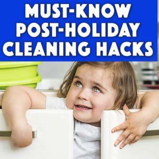 Must-Know-Post Holiday Cleaning Hacks The fun and joy of the kids being excited and those smiles… man, those smiles are the best, aren't they? Maybe that's why you back down a little when it comes to messes during the holidays. You want your kids to have fun and not stress too much about messes that they are creating. Or is that just me that does that? #homechores #housecleaning #way2goodlife