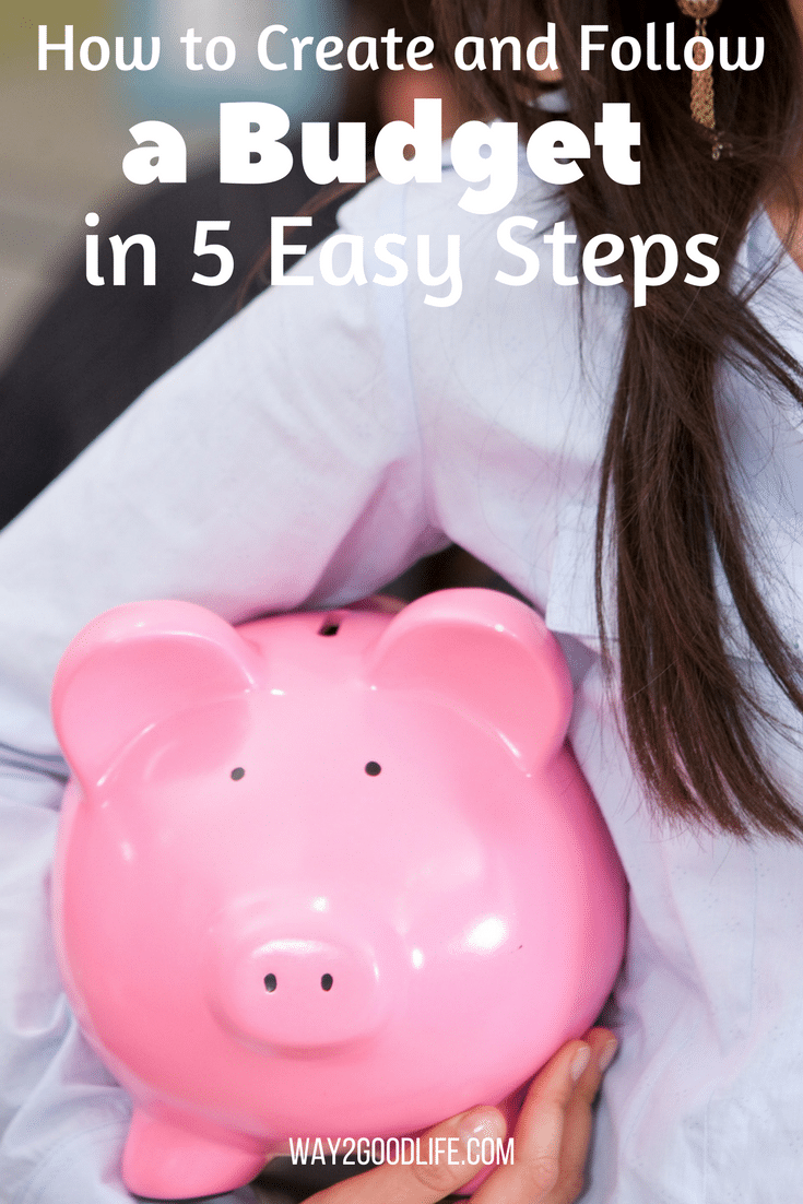 Learn how to create a budget that you can stick to in just 5 easy steps!  Our frugal tips will revamp your budget in no time!