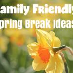 Faily Friendly Spring Break ideas