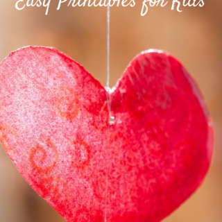 Printable Valentine's Day Cards that are ideal for kids! Check out this awesome list of ideas and make for your kids this year!