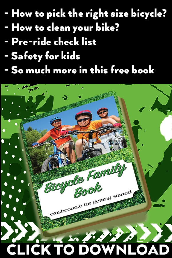 Bicycle Safety Book - learn anything you need to know about family cycling