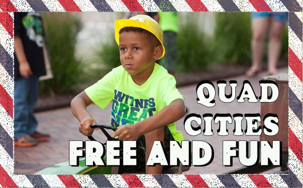 Free and Fun Activities in Quad Cities - an exciting weekend family getaway on a strict budget #budgettravel #traveltips #MidwestTravel #Way2GoodLife