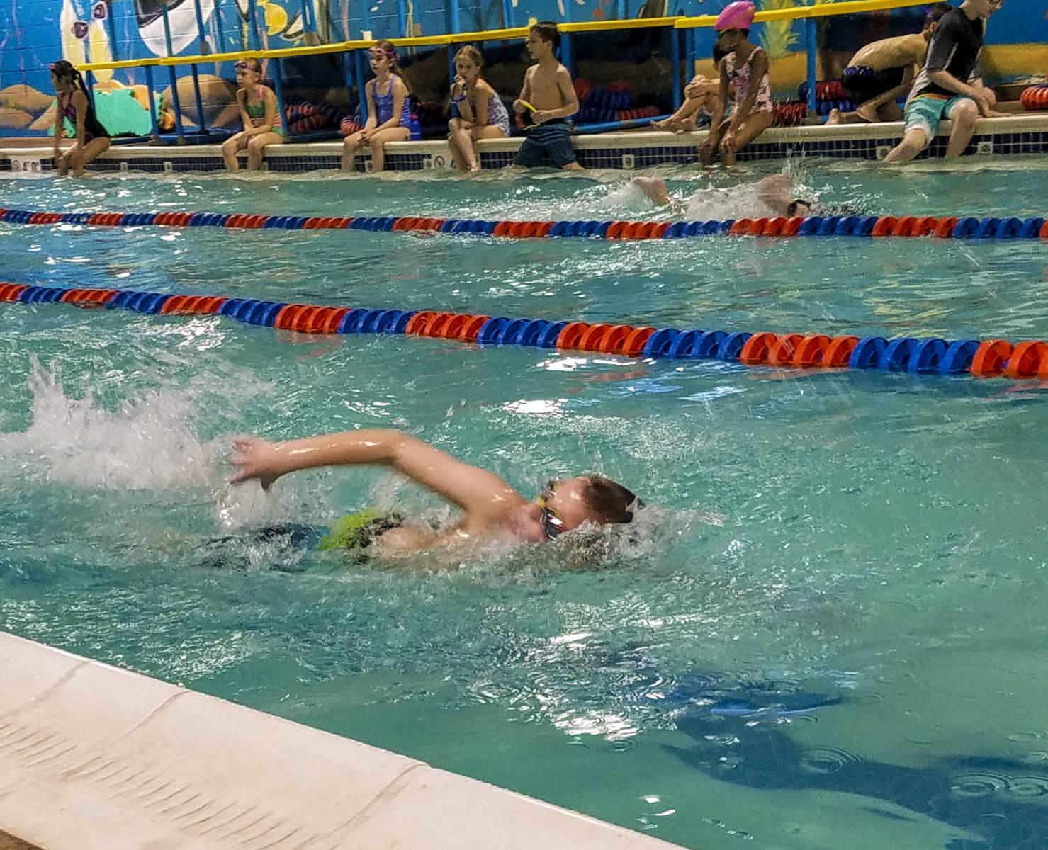 Swimming Camp Activity   Fun Waterfront   Rockbrook Camp