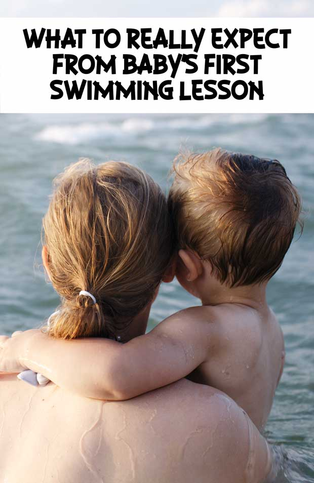 What to really expect from baby's first swim class #Swim #BabySwim #Family #Way2GoodLife