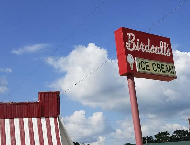 Birdsall's Ice cream building Mason City IA