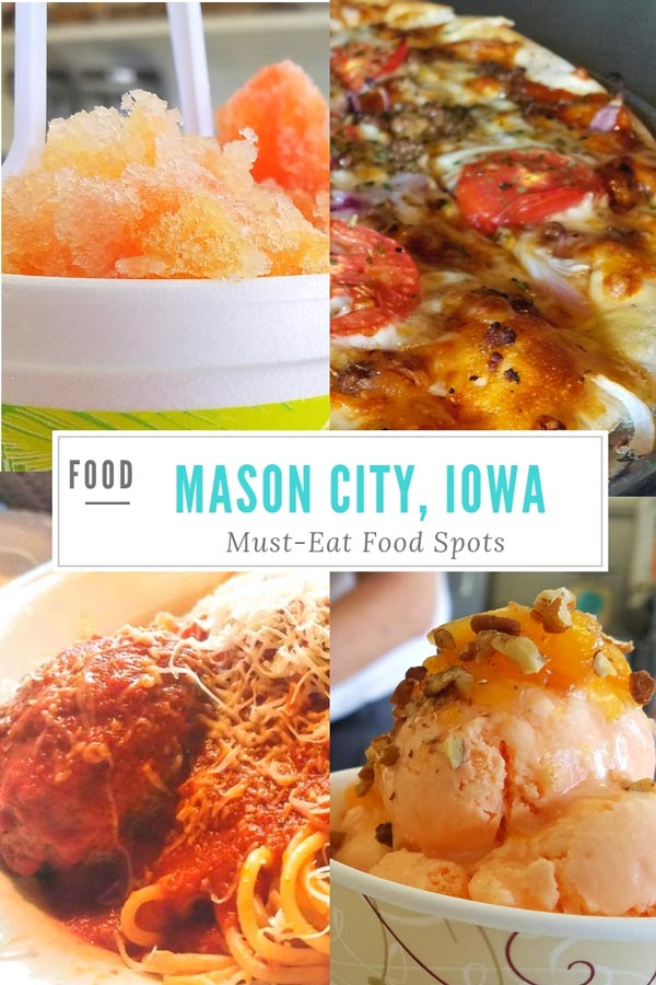 Love eating at the local favorites when traveling and so excited to share today our favorite foods spots at Mason City, Iowa - give them a try when you visit Mason, City, IA!  Mason City Must-Eat Food Spots #MidwestTravel #Way2GoodLife #FamilyTravel #hosted