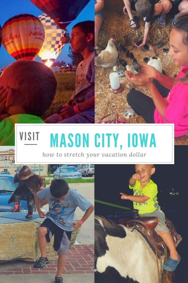 how to stretch your vacation dollars in Mason City Iowa #MWTravel #Way2GoodlIfe #roadtrip #familytravel