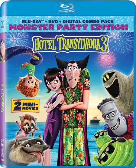 HotelTransylvania 3 DVD