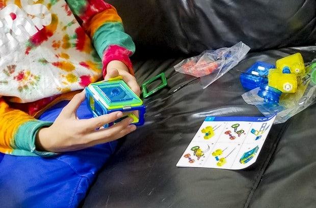Assembling GeoSmart Bot toy