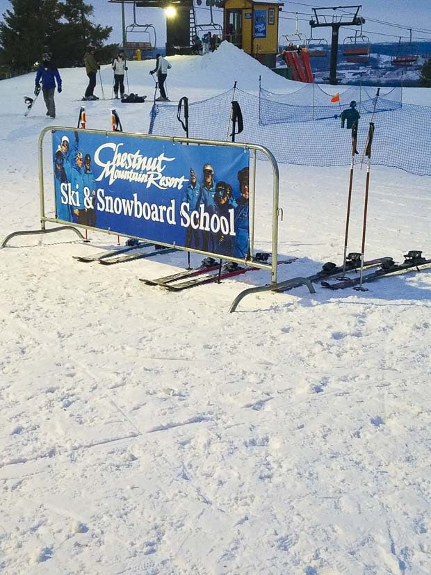 The Chestnut Mountain Resort ski school