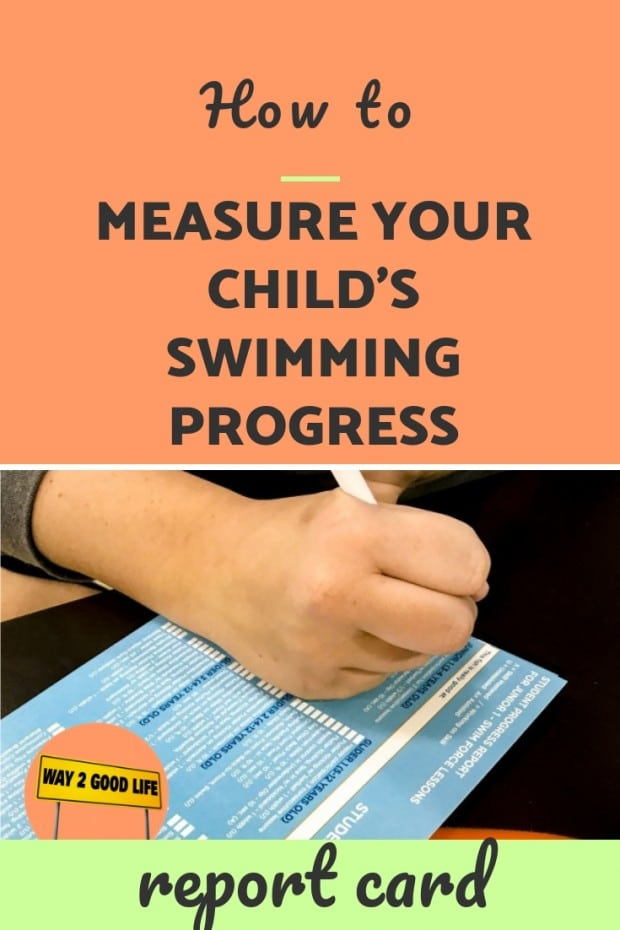 How to measure your child's swimming progress