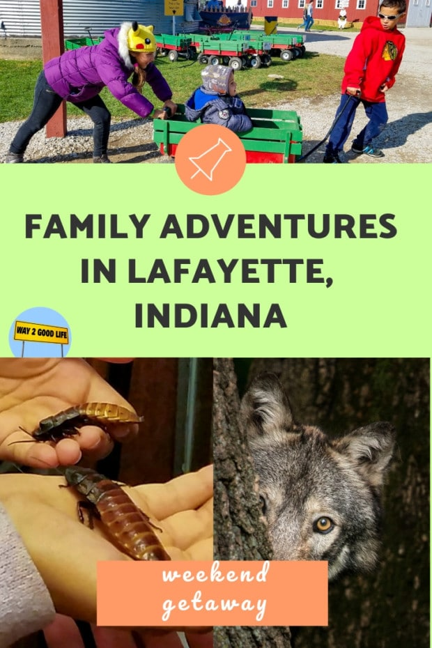 Family Adventures in Lafayette Indiana