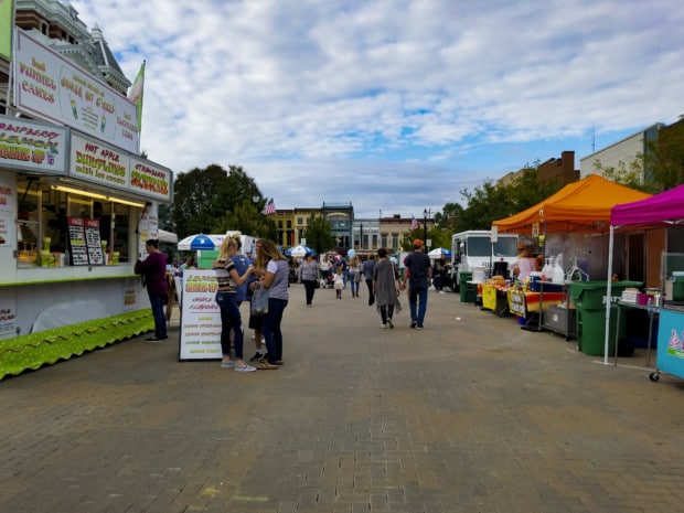 Fall festival at Festival country