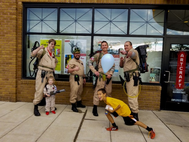 Ghostbusters at Johnson County Indiana