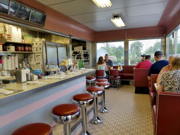Hendricks County Oasis diner inside