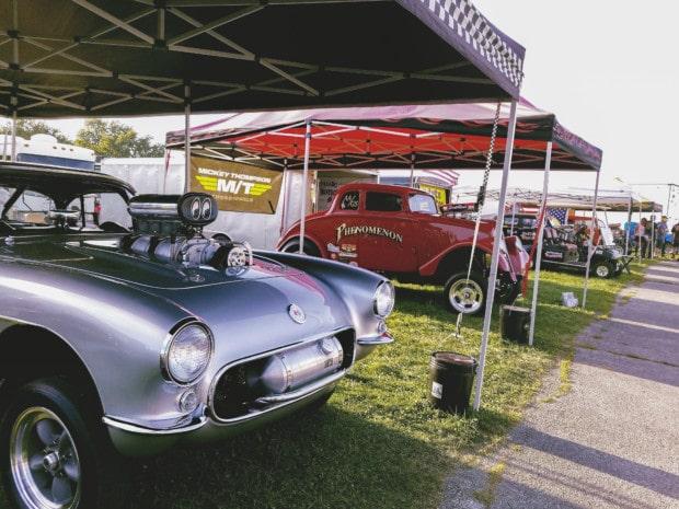 Hendricks County Lucas Raceway funny cars