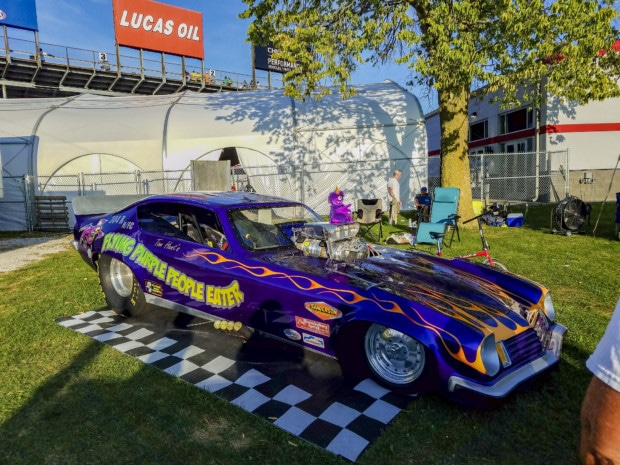 Funny Car at Hendricks County raceway