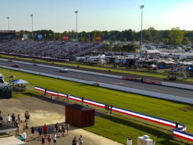 Oil Lucas Hendricks County raceway
