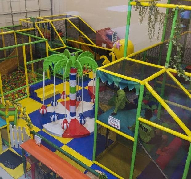 Hendricks Kids Planet over look from second floor