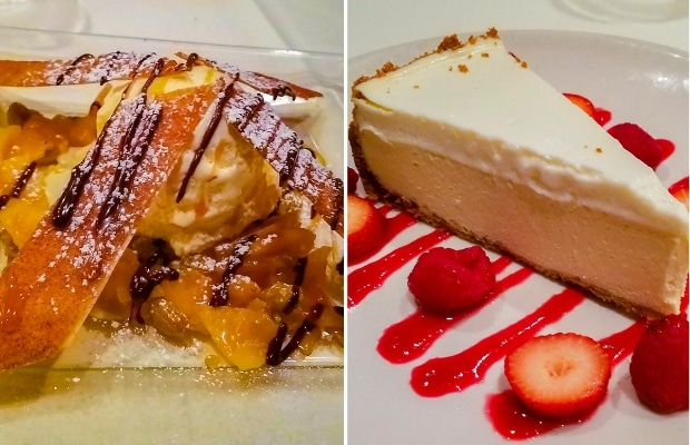 Desserts at Palm Court in Arlington Heights