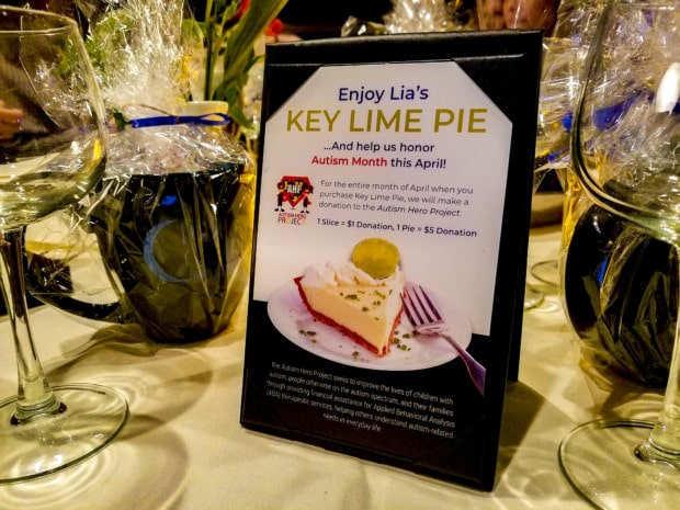 Key Lime Autism Month at Palm Court in Arlington Heights