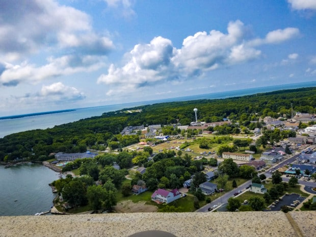 Put-in-Bay view from up high