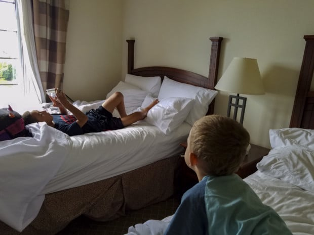 boys in Staybridge hotel Hendricks County