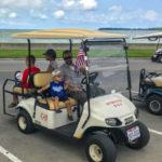 But-in-Bay Golf cart