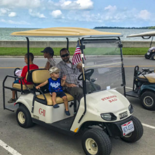 But-in-Bay Golf cart