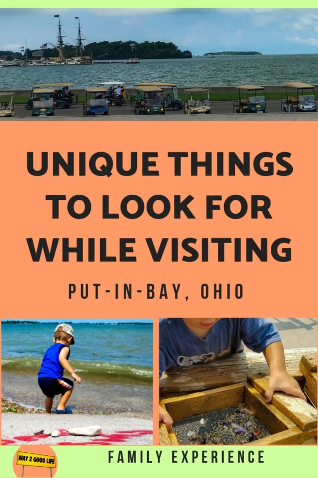unique things to look for while visiting put-in-bay ohio