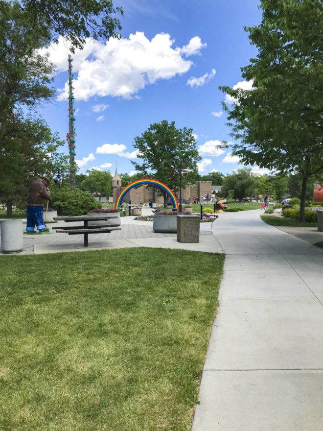 Overview of Storybook Land Aberdeen South Dakota