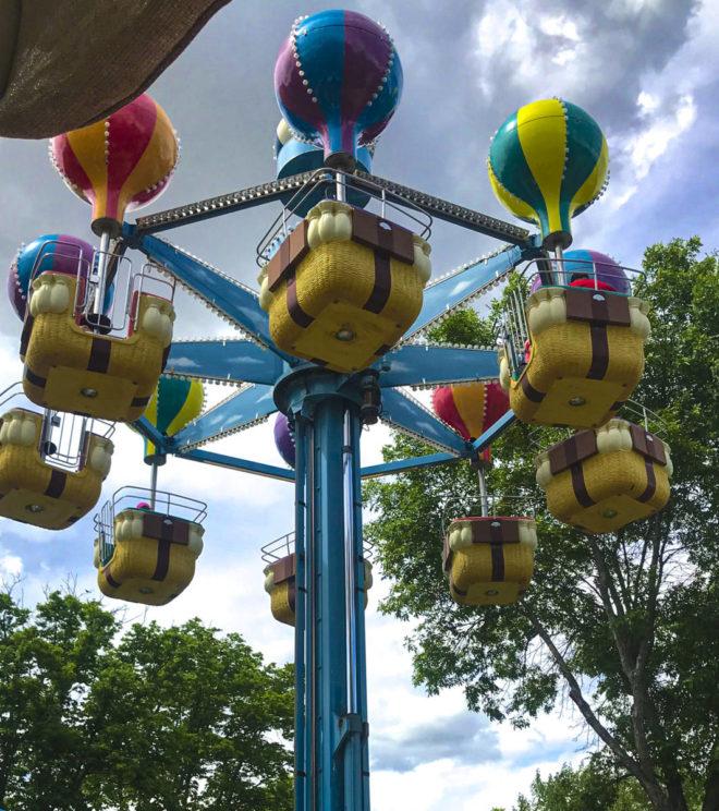 Baloon ride in Storybook Land Aberdeen South Dakota