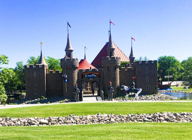 Storyland Castle in Storybook Land Aberdeen South Dakota