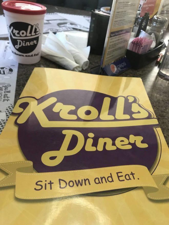Kroll's Diner box