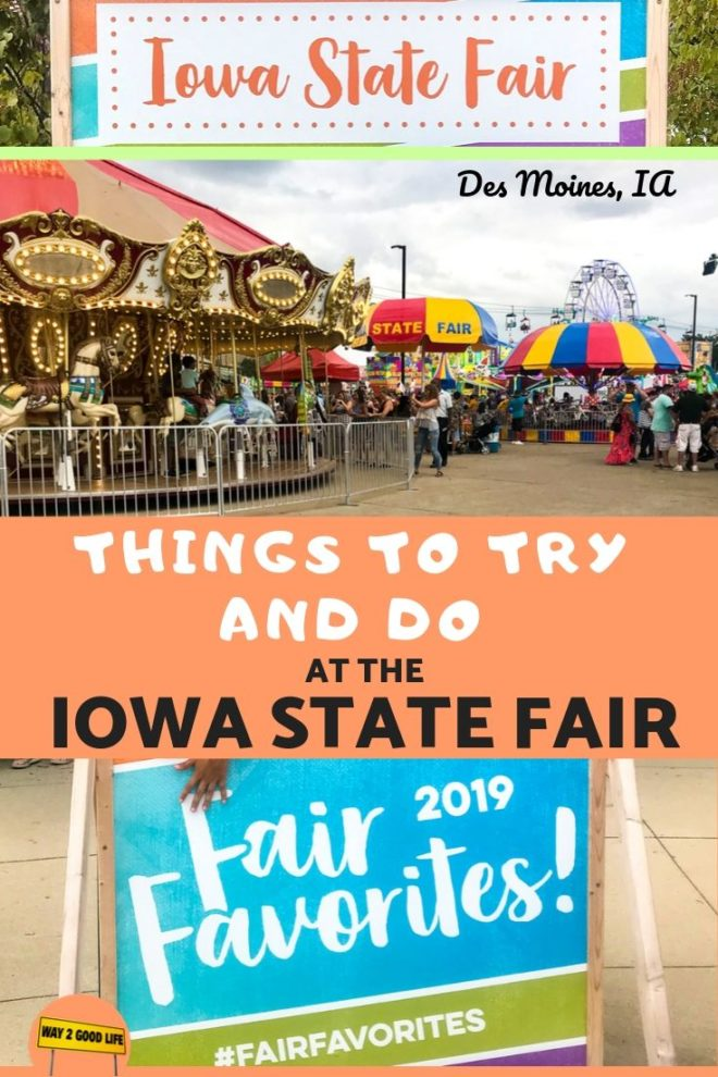 Iowa State Fair Pin