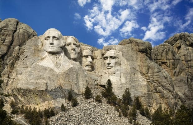 25 Places to Celebrate Presidents in the Midwest - Mount Rushmore