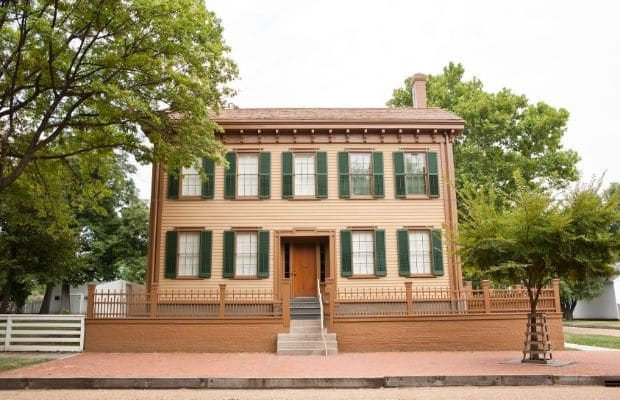 25 Places to Celebrate Presidents in the Midwest - Lincoln Home
