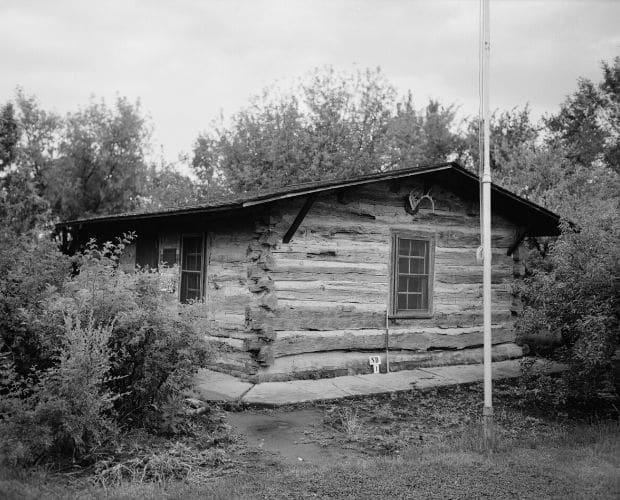 Theodore Roosevelt's cabin in Dakota Badlands