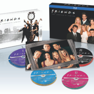 Friends DVDs in the DVD boxes full set