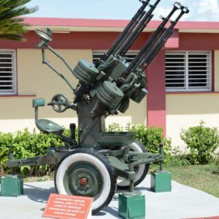 Anti Tank system outside of museum