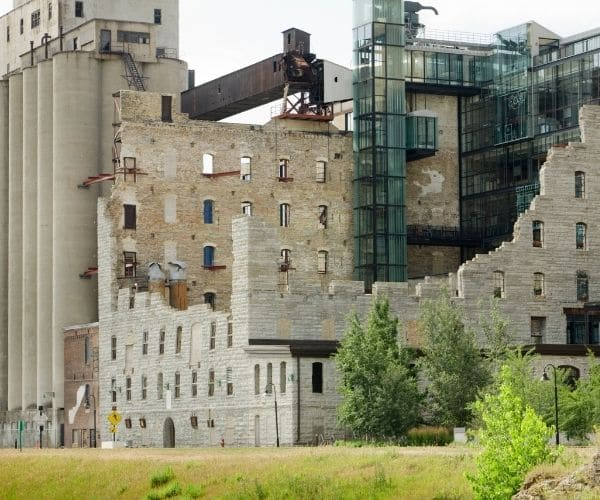A Mill City Museum in Minneapolis Minnesota