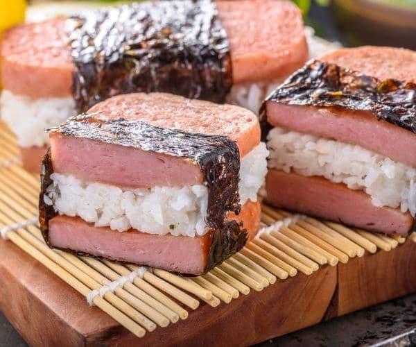 Fancy SPAM sandwich
