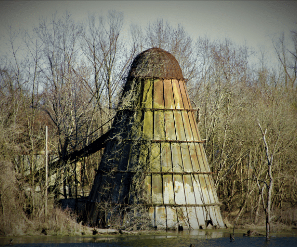 Abandoned Missouri Silo of Cold War Missile Silos in the United States